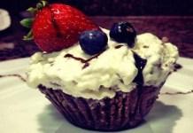 Receita de Cupcake Gelado de Nutella