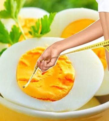 Dieta do ovo cozido para perder até 10kg em apenas 2 semanas