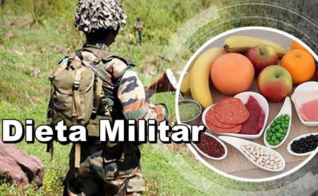 Emagreça até 4 quilos em apenas 3 dias com a Dieta militar