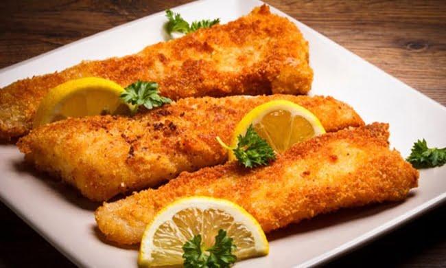 Receita de Filé de Peixe Empanado