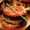 Receita de Forminha de carne moída com berinjela
