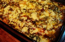 Receita de Lasanha de Berinjela aos 4 queijos