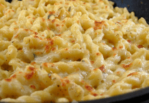 Receita de Macarrão com queijo