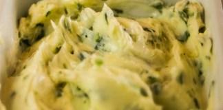 Receita de Manteiga de Alho