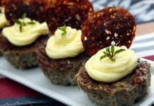 Receita de Muffin de Carne com Catupiry