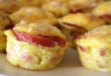 Receita de Muffins de Bacon