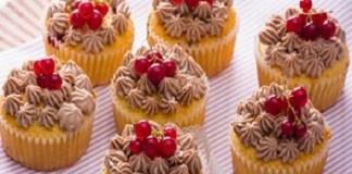Receita de Muffins de Groselha com Chocolate