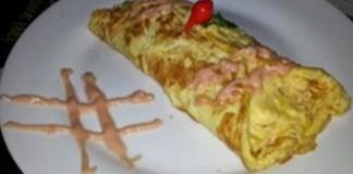 Receita de Omelete Mineiro