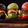 receita de Pão da Hambúrguer Colorido