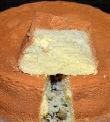 Receita de Pão de ló de fécula de Batata