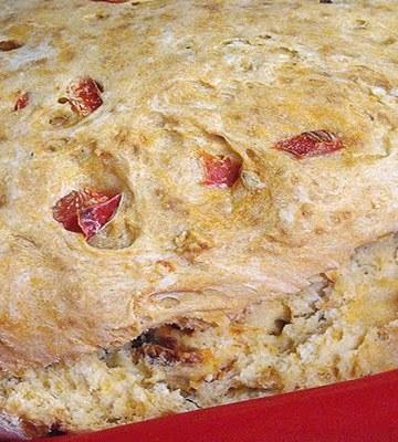 Receita de Pão light de tomate seco
