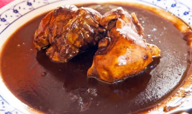 Receita de Peru ao Chocolate Mexicano