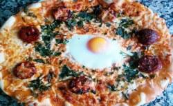 Receita de Pizza Alentejana