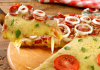 Receita de Pizza com massa de pão de queijo