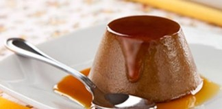 Receita de Pudim de Cappuccino