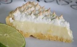Receita de Torta mousse de limão e merengue