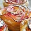 Receita de Rosas de Maçã