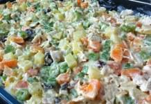 Receita de Salada Russa