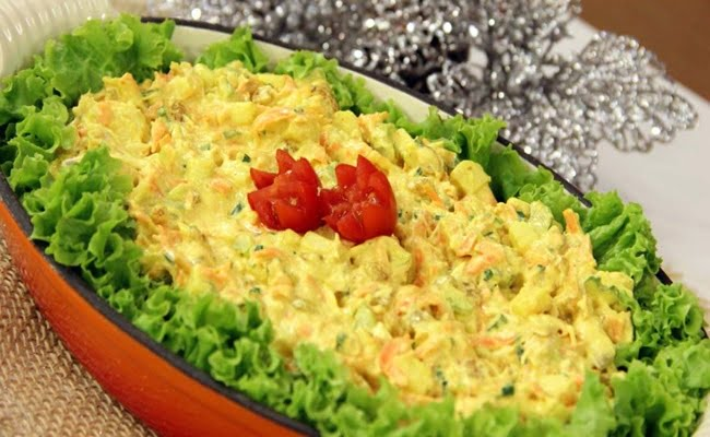 Receita de Salpicão ao Curry