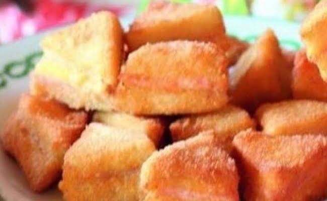 Receita de Sanduichinhos Empanados