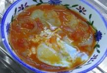 Receita de Sopa de Ovo