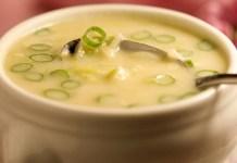 Receita de Sopa de alho