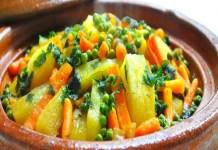 Receita de Tajine de Legumes