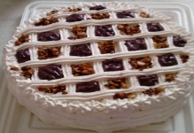 Receita de Torta Mousse de Açaí