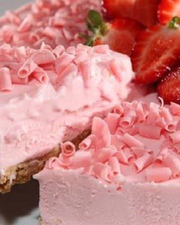 Receita de Torta Rosa