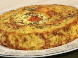Receita de Torta de Abobrinha Vegetariana