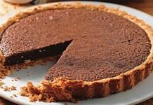 Receita de Torta de Chocolate Simples
