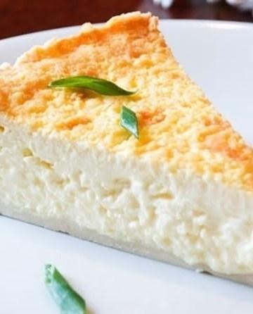 Receita de Torta de Queijo Minas