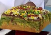Receita de Torta de Salame de Liquidificador