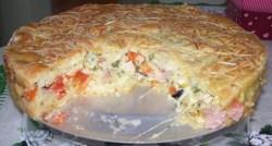 Torta de Pizza de Liquidificador