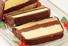 Torta Gelada de Capuccino