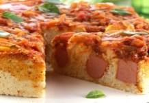 Receita de Torta siciliana com salsicha