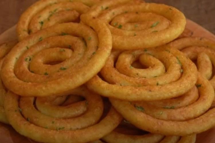 batata frita em espiral