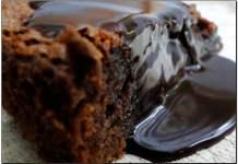 Receita de Bolinho Cremoso de Chocolate Light
