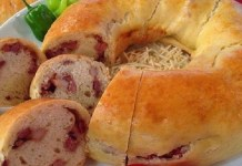 Receita de Pão de Linguiça
