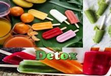 Receita de Picolés Detox 3 Receitas