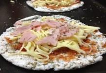 Receita de Pizza de Tapioca