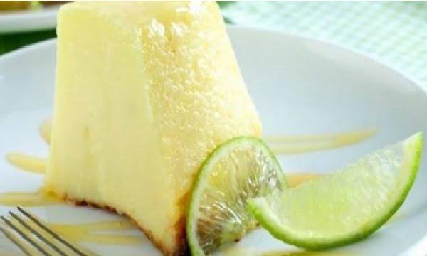 Receita de Pudim de Limão