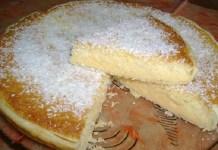 Receita de Torta de Leite Condensado com Coco