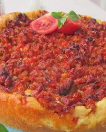 Receita de Torta de Macarrão