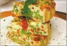 Tortilha de Legumes
