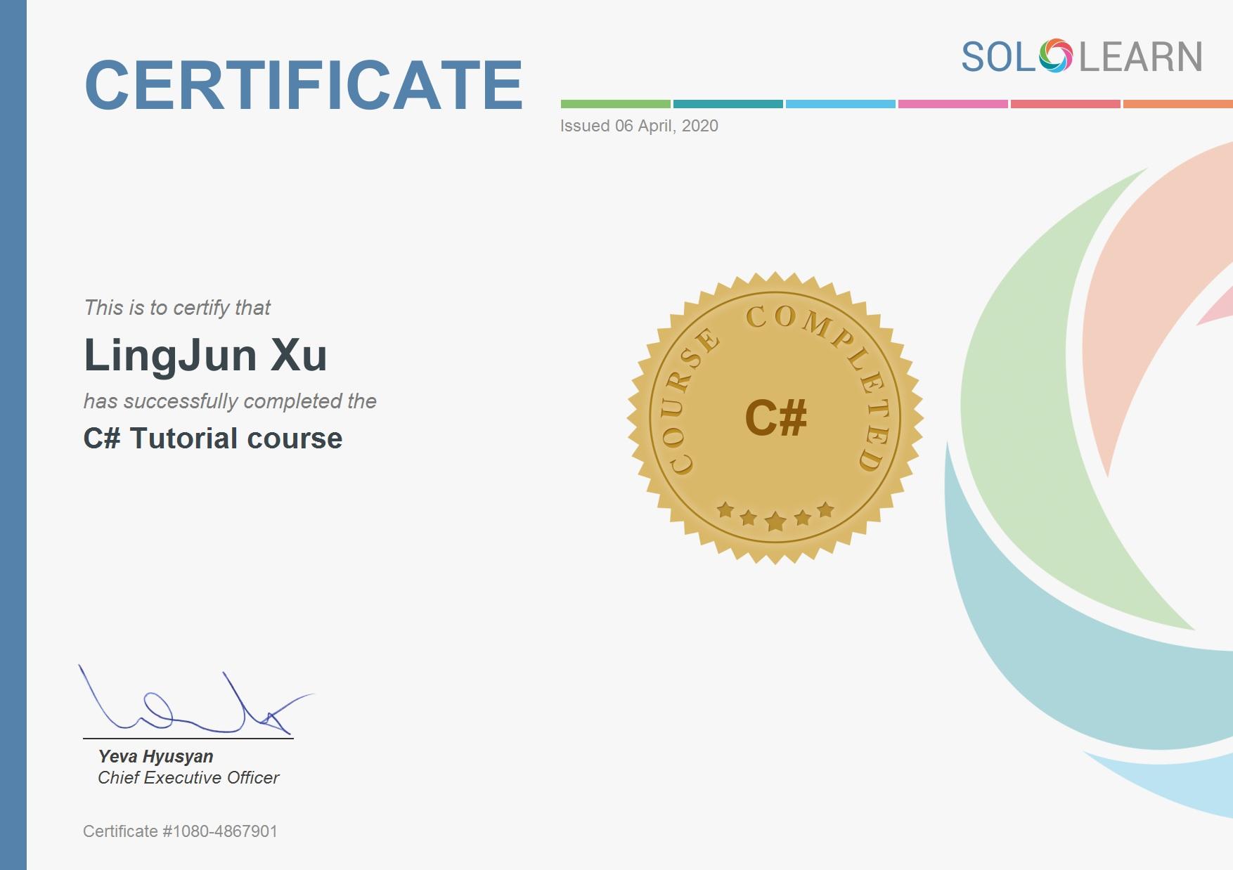 C# 基础课程的完成