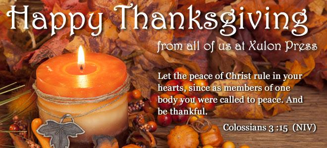 foto de A Thanksgiving message from Xulon Press | Xulon Press Blog