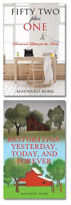 Xulon Press author Maynard Bork.  Book Covers