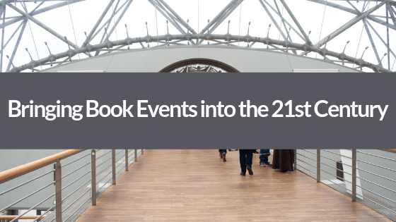 Planning an event for your book? Here's our best tips on how you can bring your book event into the 21st century!