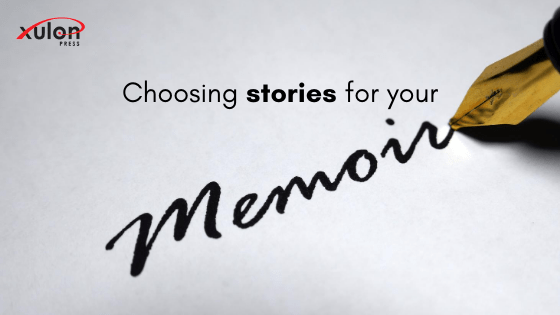 In order for a story to stay in your memoir it needs to do one of two things: Provide a deeper understanding, Advance the story forward...